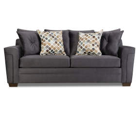 Simmons Cooper Slate Sofa Big Lots