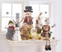 Countdown to Christmas Wooden Standing Snowman