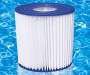 D Type Pool Filter Cartridges 2 Pack lifestyle