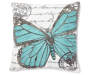 DEC PILLOW BUTTERFLY SCRIPT 18IN