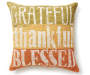 DEC PILLOW GRATEFUL THANKFUL BLESSED