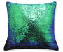 DEC PILLOW MERMAID MULTI/BLACK 17X17