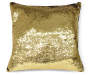 DEC PILLOW MERMAID SILVER/GOLD 17X17