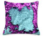 DEC PILLOW MERMAID TEAL/PURPLE Silo