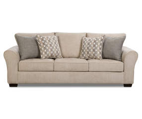 simmons davis beige sofa big lots. Black Bedroom Furniture Sets. Home Design Ideas