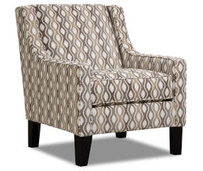 Simmons Davis Rialto Geometric Accent Chair Big Lots