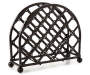 Decorative Lattice Napkin Holder Silo