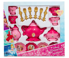 Disney Princess 26 Piece Dinnerware Play Set Big Lots
