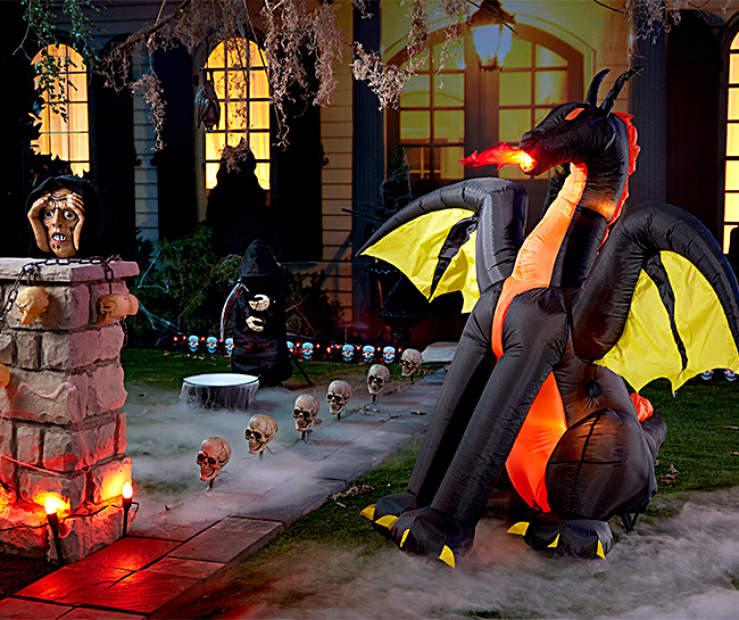 dragon outdoor halloween collection big lots - Big Lots Halloween
