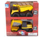 Dump Truck and Excavator Construction Vehicles 2-Pack Silo In Package