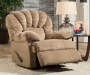 Dynasty Camel Recliner Reclined Room View