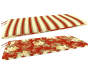 EMILY RED FLORAL BENCH PAD