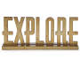 EXPLORE word plaque