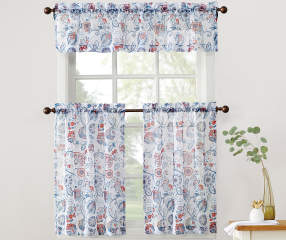 Living Colors Living Colors Kitchen Tier And Valance 3