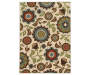 Emery Ivory Area Rug 6FT7IN x 9FT3IN Silo Image