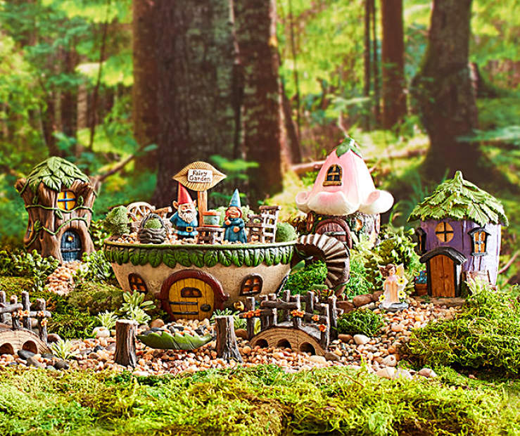 Enchanted Teacup Fairy Garden Collection Big Lots