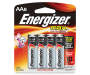 Energizer Max AA Batteries 8 Pack in Package Silo Image