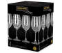 Etched White Wine Glasses Package View