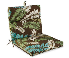 Fairbanks Botanical Amp Stripe Reversible Outdoor Chair