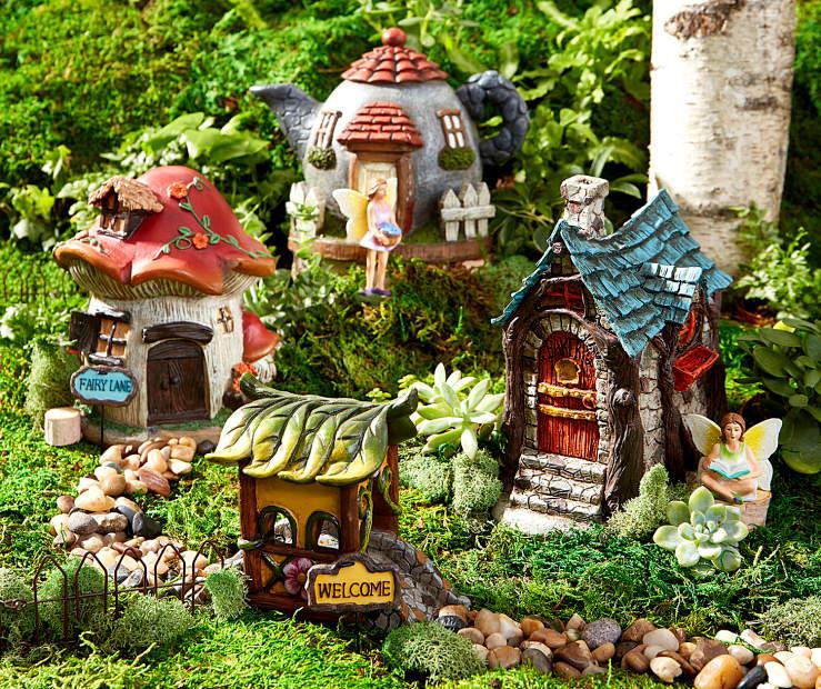 fairy garden bridgeway town collection big lots
