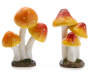 Fairy Garden Mushroom Stakes 2 Pack silo front