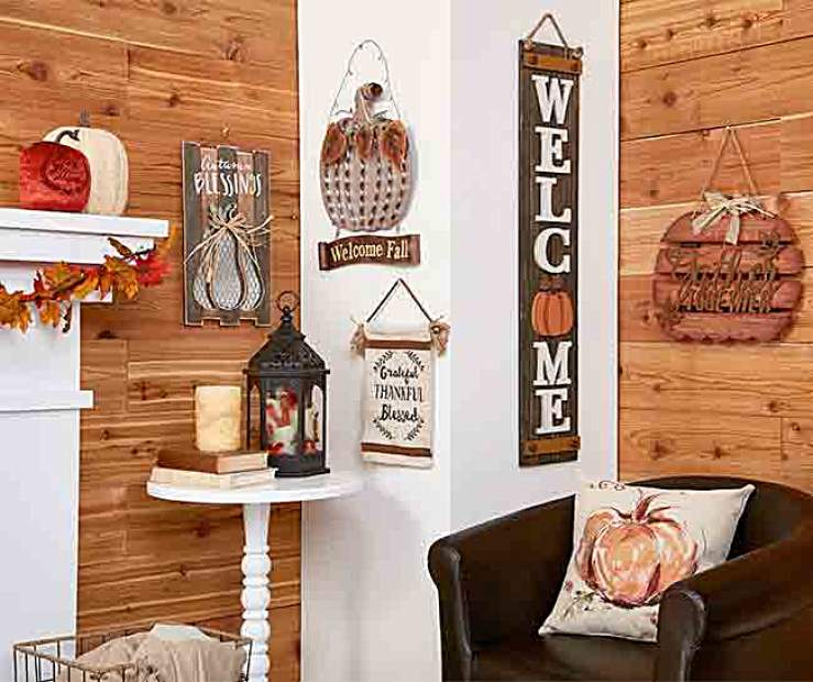 Fall Greetings Wall D Cor Collection Big Lots
