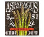Farm Fresh Asparagus Wall Plaque Front View Silo Image