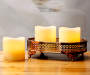 Flameless LED Candles With Timer, 3-Pack