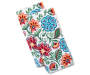 Floral Jacobean Kitchen Towels 2 Pack Stacked and Fanned Overhead View Silo Image