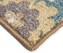 Floral Medallion Accent Runner Silo Up Close Corner