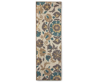 Living Colors Monaco Collection Damask Area Rug 5 X 6 7