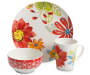 Flower 12 Piece Dinnerware Set silo front