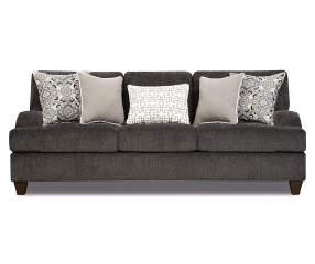 Simmons Freeport Slate Memory Foam Sofa Big Lots