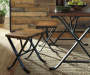 Freimore Brown and Black Dining Set lifestyle