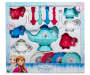Frozen 26 Piece Dinnerware Set In Package Overhead View Silo Image