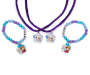 Frozen Necklace and Bracelet BFF Jewelry Set Out of Package Silo Image
