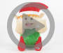Funny Face Animated Elf Doll Video