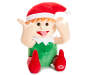 Funny Face Animated Elf Doll