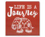 GB BOX PLAQUE LIFE IS A JOURNEY
