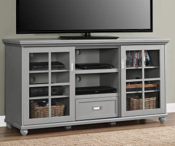 TV Stands And Media Consoles Wooden Modern And More Big Lots - Buffet tv