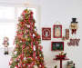 Galvanized Christmas Tree Metal Wall Décor