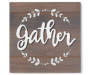 Gather Gray Wash Wood Plank Wall Plaque silo front