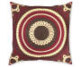 "Geovany Red Throw Pillow, (18"" x 18"")"