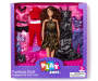 Glam Brunette Fashion Doll Set in Package Silo Image