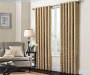 Gold 84 Inch Tulsa Panel on Window Room View