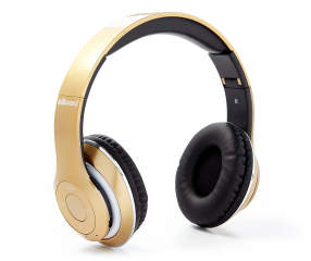 billboard gold bluetooth fm radio headphones big lots. Black Bedroom Furniture Sets. Home Design Ideas