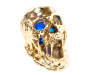 Gold Color Changing LED Skull