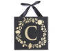 Golden C Letter Wall Plaque Silo Image