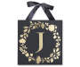 Golden J Letter Wall Plaque Silo Image