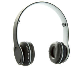 sentry gray bluetooth stereo headphones big lots. Black Bedroom Furniture Sets. Home Design Ideas